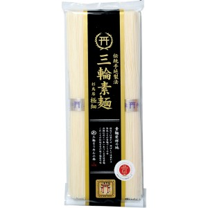 三輪素麺 杉鳥居 極細 お徳用50g×4小袋 TAG-200